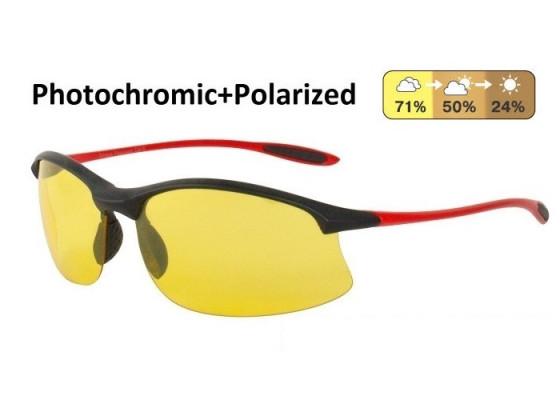 Универсальные очки AUTOENJOY PROFI-PHOTOCHROMIC SF01BGYR жёлтые