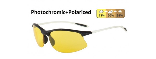 Универсальные очки AUTOENJOY PROFI-PHOTOCHROMIC SF01BGYW жёлтые